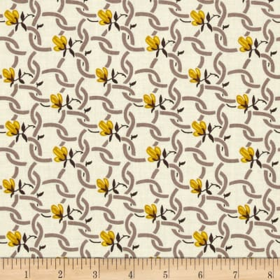 Denyse Schmidt Hadley Chain Link Floral Sunflower