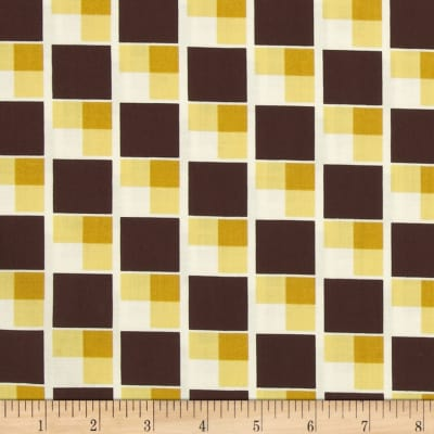Denyse Schmidt Hadley Diagonal Blocks Sunflower