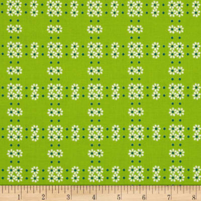 Mimosa Daisy Grid Lime