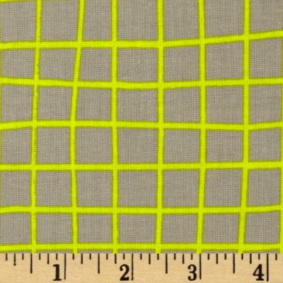 Cotton + Steel Moonlit Grid Yellow