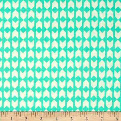 Cotton + Steel Moonlit Arrow Geo Teal