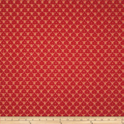 Robert Allen Promo Upholstery Petite Floral Jacquard Pomegranate