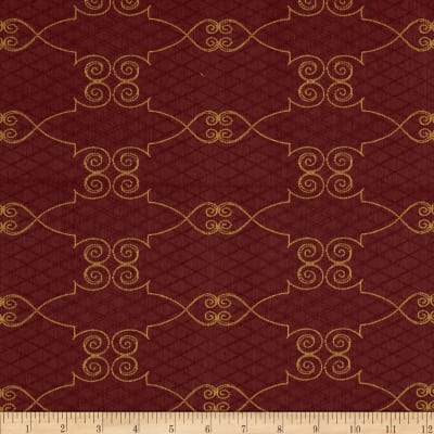Robert Allen Promo Parisienne Upholstery Jacquard Cayenne