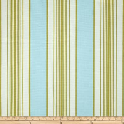 Robert Allen Promo Darby Lane Stripe Blend Ocean