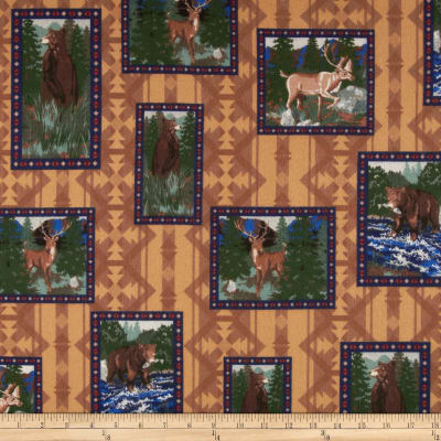 Big Country Flannel Animal Patch