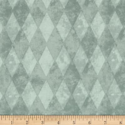 On the Green Diamond Argyle Light Blue