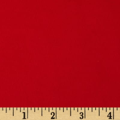 Poly Single Knit Red