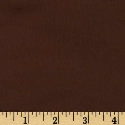 Poly Single Knit Chocolate