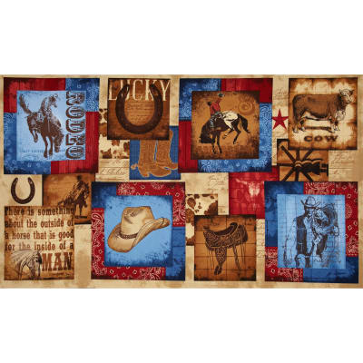 "Ironwood Ranch Sampler 24"" Panel Multi"