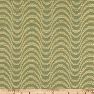 Robert Allen Promo Upholstery Rolling Waves Seaglass