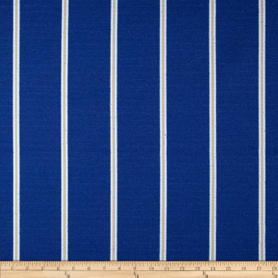 Robert Allen Promo Long Beach Stripe Boucle Atlantic Blue
