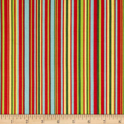 Michael Miller Play Stripe Red
