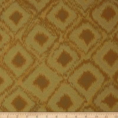 Robert Allen Promo Perfect Ikat Jacquard Gold Luck