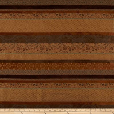 Robert Allen Promo Upholstery Hinkly Stripe Toffee