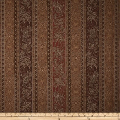Robert Allen Promo Pearlridge Jacquard Chocolate
