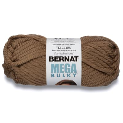 Bernat Mega Bulky Yarn 88017 Toasty Grey
