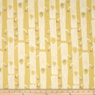 Birch Organic Circa 52 Interlock Knit Tree Stripes Sun