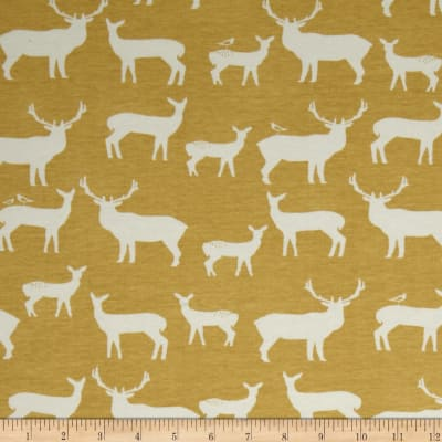 Birch Organic Interlock Knit Elk Grove Elk Family Sun