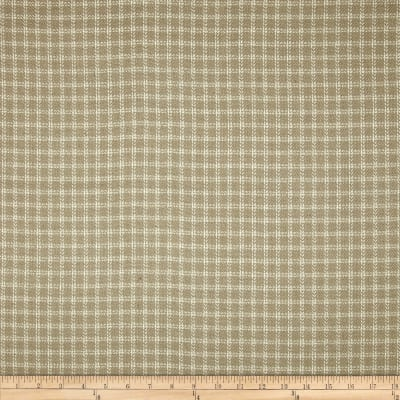 Covington Homespun Plaid Rayon Bamboo Blend Linen