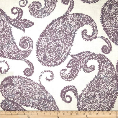 Jennifer Adams Home Henley Paisley Blend French Lavendar
