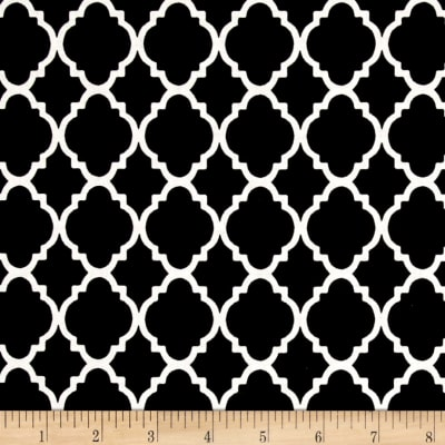 Quatrefoil Black/White
