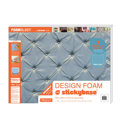 "Foamology One Piece Design Foam Poke A Dot 24"" x 18"" x 2"""