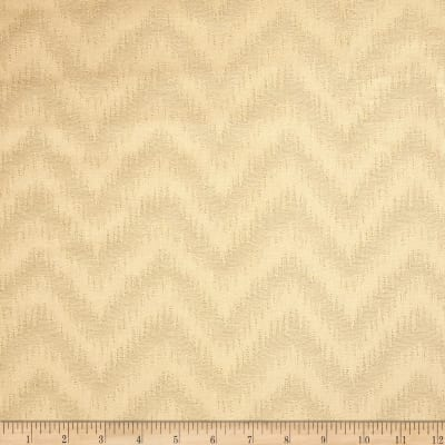 Waverly Peaks Solid Chevron Damask Cappuccino