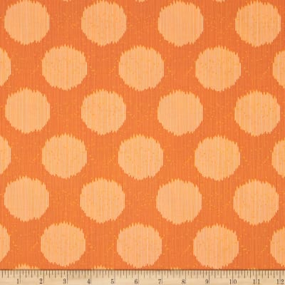 Tula Pink Moon Shine Static Dot Tangerine