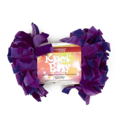 Premier Knot Easy Yarn (1001-19) Purple Camo