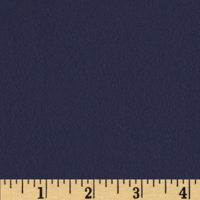 Quilt Block Solid Flannel Navy