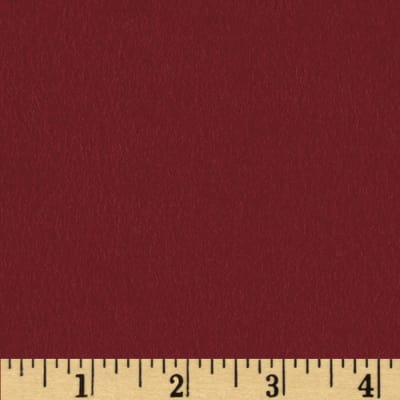 Quilt Block Solid Flannel Burgundy