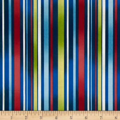 Winter Parade Candy Cane Stripe Royal