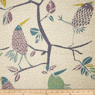 Swavelle/Mill Creek Flock Together Jacquard Grape