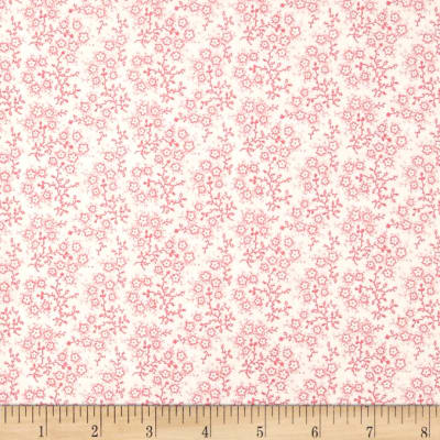 Mini Floral White/Pink