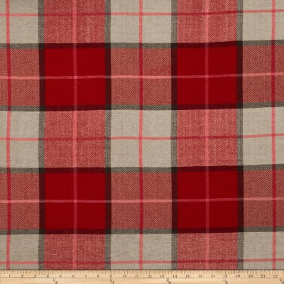 Kaslen Pennington I Plaid Mirage Red