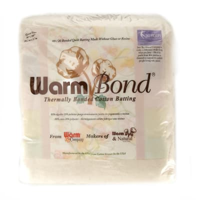 The Warm Company Warm Bond Cotton/Poly Batting Queen