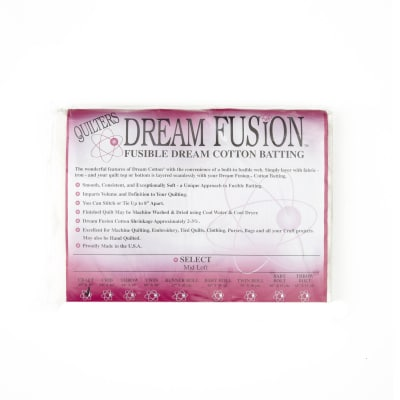 "Quilter's Dream Fusion Cotton Select (46"" x 36"") Craft"