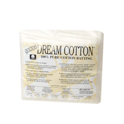 Quilter's Dream Natural Cotton Supreme Batting (93