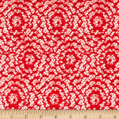 Argentella Stretch Lace Red