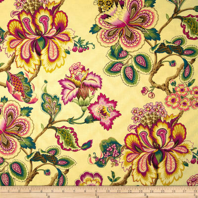 HGTV HOME Bespoke Blossoms Damask Sunset