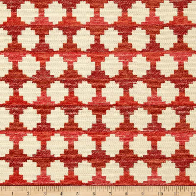 HGTV HOME Auction Block Woven Chenille Sunset