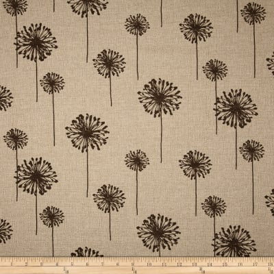 Premier Prints Dandelion Denton Tobassco Brown