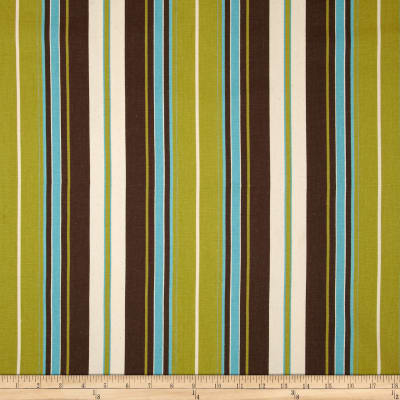 Premier Prints Veranda Stripe Chocolate/Natural