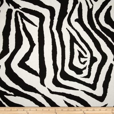 Premier Prints Zebra Black