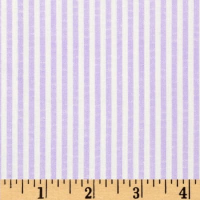 Printed Shirting Stripe Lavender
