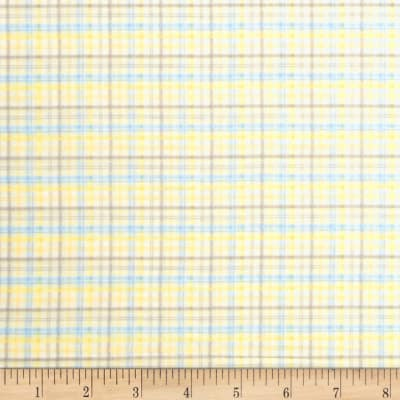 Baby Business Sweet Tweet Plaid Yellow/Blue