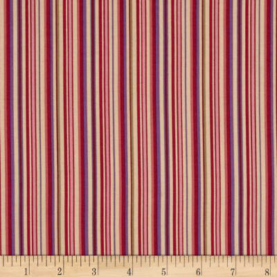 Bittersweet Ladder Stripe Berry