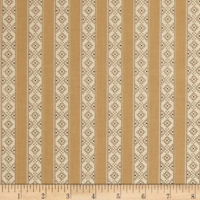 Make Do and Mend Needlepoint Stripe Tan