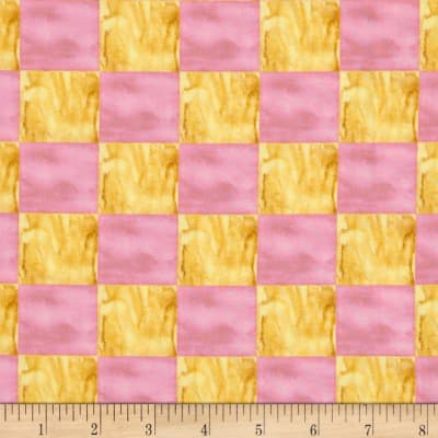 Every Living Thing Checkerboard Yellow/Rose