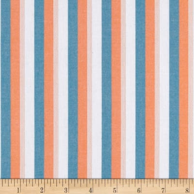 Kaufman Classic Threads Large Stripe Summer